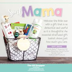 Great mother's day or baby shower surprise. www.theoildropper.com/baby