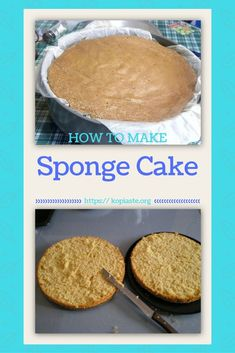 Sponge Cake (pantespani, in Greek) is the base for many desserts. Using this basic recipe you can make birthday cakes but also many other desserts. New Year's Desserts, Christmas Desserts Easy, Cute Desserts, Dessert Recipes, Simple Christmas, Dessert Ideas, Make Birthday Cake, Champagne Cake, Vegan Candies