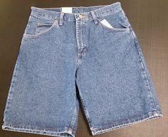 WRANGLER Originals Relaxed Fit Men's Denim Jeans Shorts Sz 30 NWT Free Shipping #Wrangler #Denim #ebay #jeans