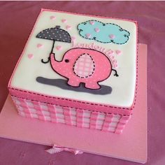 Image result for umbrellaphant cake