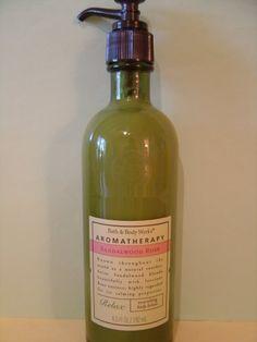Bath & Body Works Aromatherapy Sandalwood Rose Lotion Large Full Size
