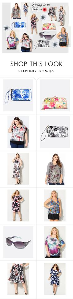 """Spring is in Bloom"" by avenue365 on Polyvore featuring Avenue, women's clothing, women, female, woman, misses and juniors"