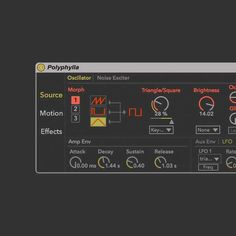 Polyphylla v1.2 for Ableton Live v9.7.1 ALP SYNTHiC4TE | April 13th 2017 | 9.1 MB Polyphylla is a new Max For Live instrument that makes additive synthesi