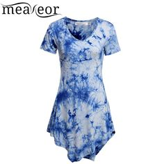Meaneor Women Fashion Top women Short Sleeve T – All In One Place With Us