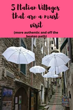 Looking to go offbeat in Italy?? Consider visiting these villages in the north of Italy, close to the sea and authentic local food! #Travel