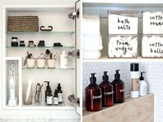 23 Small Bathroom Organization Hacks to Save Space