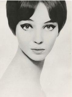 Photo by Harry Meerson, ca 1965, Anna Karina.