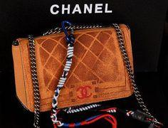 5b322c9cde87 Wholesale Réplique Boy Sac Chanel Flap A61680 toile peinte blé - €186.28   réplique  sac a main, sac a main pas cher, sac de marque   replique sac a main ...