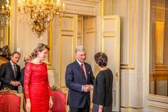 Belgian Royal Family Held a New Year's Reception
