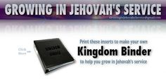 Growing In Jehovah's Service