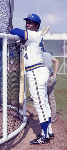 Hank Aaron - Milwaukee Brewers