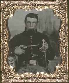 goldener rahmen Union soldier