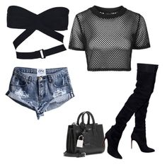Untitled #454 by northwood on Polyvore featuring polyvore, fashion, style, Topshop, Alaïa, Balmain, Yves Saint Laurent and clothing