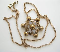 Kalevi Sara Bronze Necklace Made in Finland