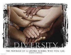 Diversidad -Diversity Art Print 24 x Diversity Poster, Unity In Diversity, Cultural Diversity, Diversity Quotes, We Are All One, We Are The World, Hugs, Diversity Activities, Classroom Activities