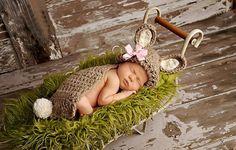 handmade baby beanie häschen kostüm set mädchen Neugeborene häkeln stricken foto Fotografie Requisiten tier Outfit neue(China (Mainland))