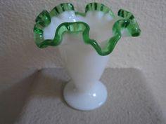 Fenton 1949-1955 Emerald Crest