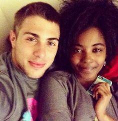 Black couple white guy