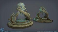 ArtStation - Legion: Night Elf Props, Ashleigh Warner