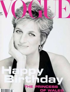 pics of princess Di from Vogue - Google Search