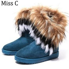 =>>Save onWomen Snow Boots Warm Winter Shoes Fake Fox Fur Ankle Boots 2016 Hot Sale Fashion Comfortable Shoes Woman Slip On Size 40 WBS535Women Snow Boots Warm Winter Shoes Fake Fox Fur Ankle Boots 2016 Hot Sale Fashion Comfortable Shoes Woman Slip On Size 40 WBS535best recommended for you.Shop the ...Cleck Hot Deals >>> http://id635942108.cloudns.ditchyourip.com/32699451072.html images