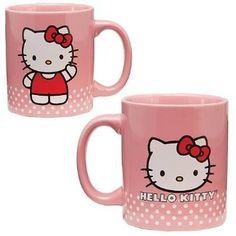 Vandor Hello Kitty 12 Ounce Ceramic Mug, Pink (18061) $12.09