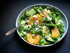 Avocado and Orange Salad with Jalapeño Vinaigrette