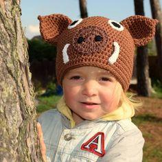 Divočák Crochet Hats, Beanie, Unisex, Creative, Knitting Hats, Beanies, Beret