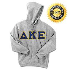 Delta Kappa Epsilon Standards Hooded Sweatshirt - $25.99 | Something Greek | #DeltaKappaEpsilon #DKE #fraternityclothing #greekmerchandise
