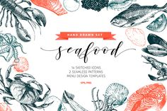 Check out my @Behance project: \u201cSeafood Hand Drawn Icon Set\u201d https://www.behance.net/gallery/48218401/Seafood-Hand-Drawn-Icon-Set