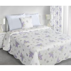 Obojstranné vintage prehozy cez posteľ v krémovej farbe - domtextilu. Comforters, Blanket, Vintage, Furniture, Design, Home Decor, Colors, Creature Comforts, Quilts