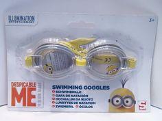 Sambro Schwimmbrille Tauchbrille Minions (grau/gelb) ab 3 Jahre - Diesen und weitere Artikel finden Sie bei Marias-Einkaufsparadies.de! - (www.marias-einkaufsparadies.de) -