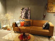 Interieur | Woonkamer inrichten in de stijl 'robuust, retro & eenvoud' • Stijlvol Styling - Woonblog