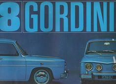 Dépliant Renault 8 Gordini R8