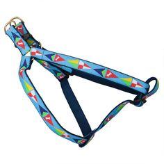 Sail Flags Dog Harness