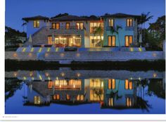 Gorgeous night view - seamless design - Miami Home & Decor South Florida home in Coral Gables