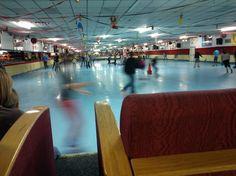 vintage roller rink | rink-view-Circus Skate roller rink-Murray Kentucky - Stow&TellU Roller Skating Rink, Roller Rink, Southern Illinois, Skates, Kentucky, Ice, Vintage, Ice Cream, Vintage Comics