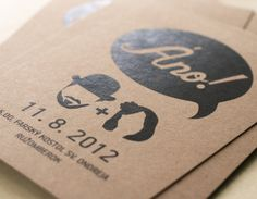Branding of my wedding via Behance