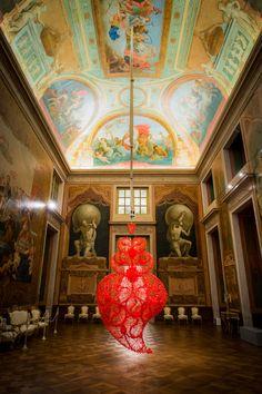 Coração Independente  - Joana Vasconcelos at the gorgeous Palácio Nacional da Ajuda in Lisbon