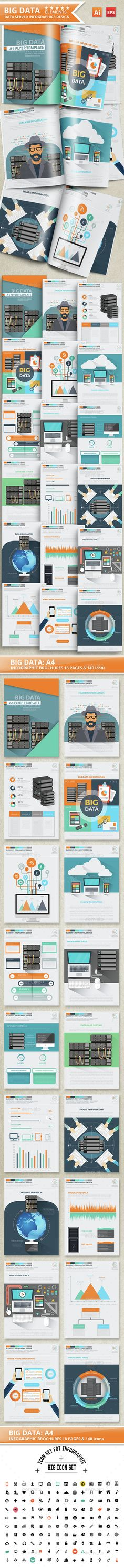Big Data Infographics Design Template Vector EPS, AI. Download here: http://graphicriver.net/item/big-data-infographics-design/14778435?ref=ksioks