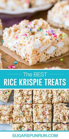 How to make the BEST Homemade Rice Krispie Treats! You're going to love this one! #ricekrispietreats #easydessert Yeast Free Recipes, Baking Recipes, Easy Desserts, Delicious Desserts, Yummy Food, Dessert For Dinner, Dessert Bars, Best Rice Krispie Treats Recipe, Cereal Treats