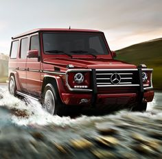 Mercedes-Benz G-Class Luxury SUV http://www.mbusa.com/mercedes/vehicles/class/class-G/bodystyle-SUV