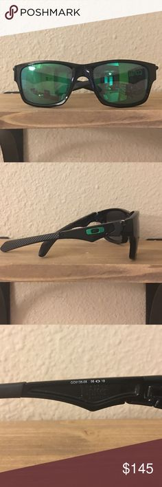 Authentic Oakley Jupiter Sunglasses! Beautiful Unisex Oakley Jupiter.. Blue/green lenses. Perfect condition! I don't have the original box but I will ship it with care. Feel free to offer. 😎😎 Oakley Accessories Sunglasses