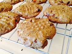Flourless Sunbutter Cookies. For more healthy, tasty recipes, follow me on Pinterest and subscribe to my blog at this link. #flourlesssunbuttercookies