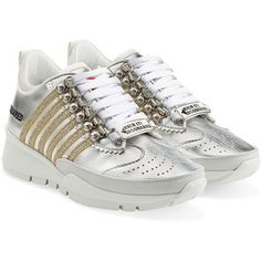 Dsquared2 251 Leather Sneakers