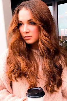 Hair Color Auburn, Auburn Hair, Red Hair Color, Great Hairstyles, Hairstyles Haircuts, Hairdos, Red Hair With Blonde Highlights, Burgundy Hair, Haircut And Color