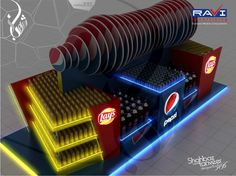 Pepsi and Lays Pallet Design