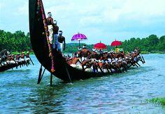 Snake Boat Races in Kerala