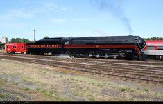 NW 611 Norfolk & Western Steam 4-8-4 at Spencer, North Carolina by Patrick Treadaway