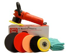 Griot's Garage 6 inch Random Orbital Correct & Finish Combo LIMITED TIME ONLY!